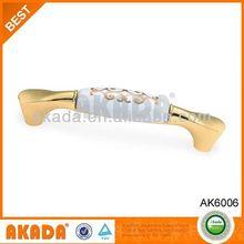 Special Designed Zinc Alloy Handle Ceramic Knobs,Ceramic Furniture Handle