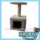 Simple Square Cat Scratching Post Modern Luxury Cat Furniture