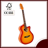 Good quality guitar with popular style in acoustic guitar magazine