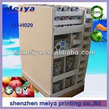 display cupboard/cardboard display for cookroom/cardboard display for kitchen
