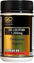 GO Healthy GO Lecithin 1,200mg Capsules 120