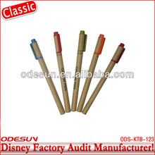 Disney factory audit manufacturer's recycled paper gel ink pen 143070