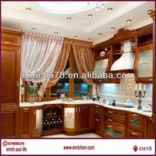 Beech wooden kitchen design - Classic style