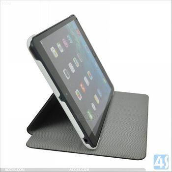 English amazon litchi grain folio leather cover case for apple ipad mini 2