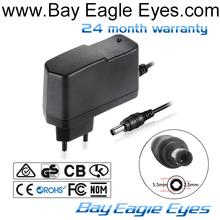 Promotion 5V6V9V12V24V Universal USB Wall cctv adapter for Tablet With UK,EU,AU,KC USA Plugs