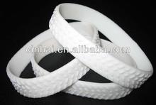 manufacture cheap silicone rubber tire wrist band