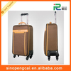 PU leather trolley luggage travel bag small suitcase