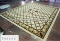 China hecha a mano de cachemira alfombras de seda fábrica de alfombras.
