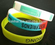 manufacture cheap custom silicone rubber wrist bands