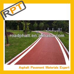 Colored asphalt pavement