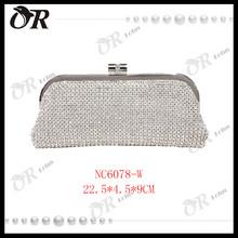 Hot selling bag woman swarovski crystal clutch bag 2015
