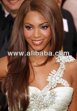 Real 100% Virgin Brazilian Human Hair On Beyonce