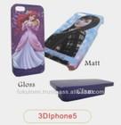 Sublimation Matt 3D phone case for Iphone 5/5S