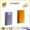 New fashion aluminium 8400mah power bank case for samsung galaxy s4