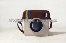 Eco friendly handmade cute felt camera case in bulk for sale made in China