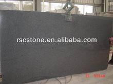 G654 black granite of standard granite slab size