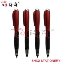 Promotion white color led light ballpoint pen