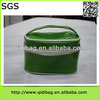 Hot selling branded shiny pvc laminated cotton cosmetic bag