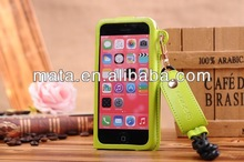 2014 new arrival hang-sling customizable elegant leather fancy mobile phone case for iphone 4 4S 5 5C 5S
