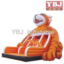 hot sale tiger inflatable water slide /commercial inflatable slide