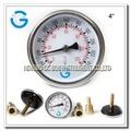 negro de acero termómetro bimetálico partes