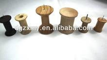 Vários tamanhos de carretéis de linha, algodão linha de carretel, industrial carretel de madeira