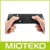 Fly air mouse keyboard rii mini bluetooth keyboard Wireless microphone+headphone