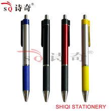 goood quality plastic chroming tip pen