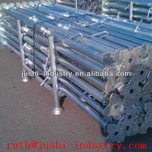 galvanized steel building post