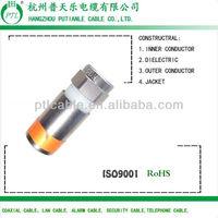 HFC F port rg coaxial conector rg6
