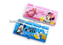 Pencil case with compartments/multi function pencil box/funny pencil caseHT8270