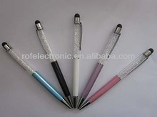 New & special design promotion & gift crystal touch pen & stylus pen