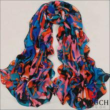 Splendid Colorful Magic scarf knit pattern