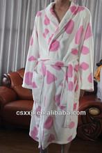 HOT sale factory wholesale zebra bathrobes adult soft unisex best selling coral fleece bathrobes for women