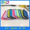 Double Color TPU Gel Case For iPhone 5 5G