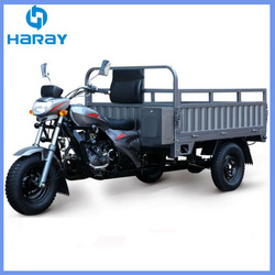 Three Wheel Cargo Motorcycles with Strong Plate Box