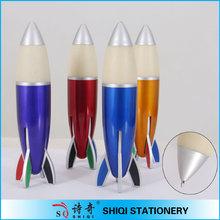 big plastic rocket ball pen