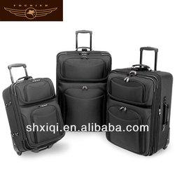 Reflective 2014 Cartoon travel luggage bag set suitcase covers
