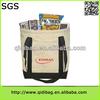 Hot selling stylish fashion bag ladies wax canvas tote bag