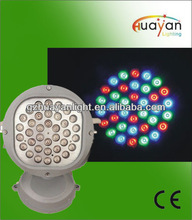 High lumen outdoor led wall washer 36w round led wall light 1w