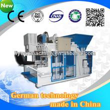 Qmy10-15 concrete brick machine quotation format