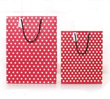 2014 printed paper bag / hot sale paper gift bag / wholesale christmas organza and santa pants gift bag