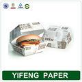 descartáveis reciclado papel design burger caixas atacado