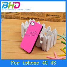 2014 double color tpu case for iphone 4 4G,mobile phone case skin for iphone 4G