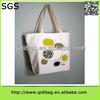 Antique high-end promotion printing canvas handbag