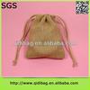Creative new nature jute burlap drawstring gift bag