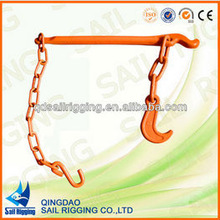 red chain lashing lever tension lever