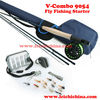super value V-Combo 9054 fly fishing starter outfit