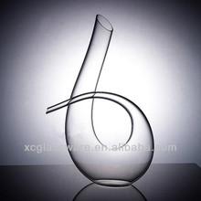 Unique Shape Art Crystal Glass Decanter,Glassware