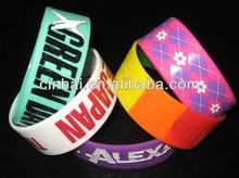 manufacture custome thick silicone rubber bangles